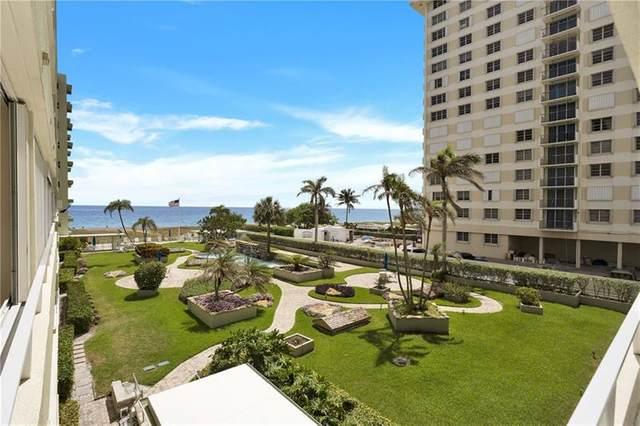 1850 S Ocean Blvd #304, Pompano Beach, FL 33062 (#F10278347) :: Posh Properties