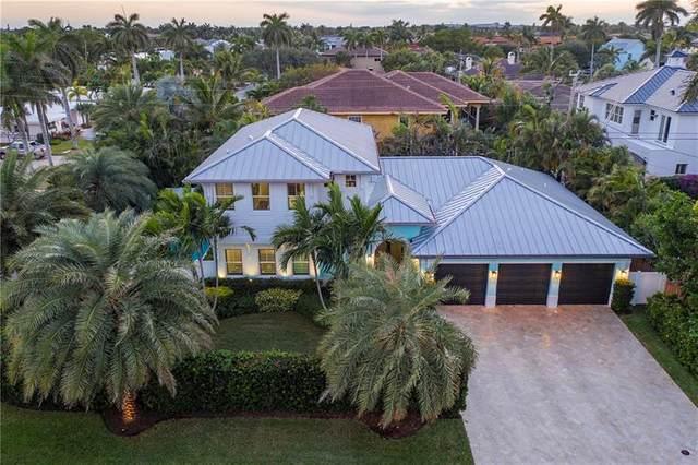 3121 NE 28th Ave, Lighthouse Point, FL 33064 (#F10278728) :: Michael Kaufman Real Estate