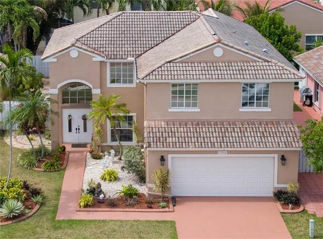 19064 NW 13th St, Pembroke Pines, FL 33029 (MLS #F10278776) :: The Jack Coden Group