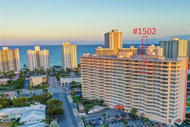 3300 NE 36th St #1502, Fort Lauderdale, FL 33308 (MLS #F10278820) :: The Howland Group