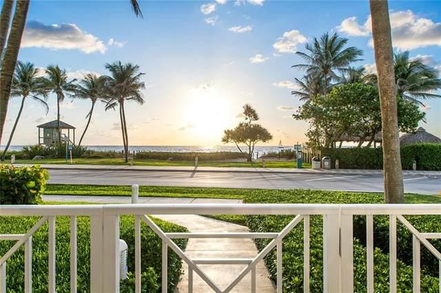 701 SE 21st Ave #109, Deerfield Beach, FL 33441 (MLS #F10278845) :: Berkshire Hathaway HomeServices EWM Realty