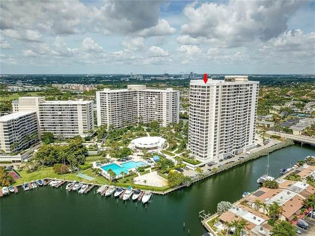 2500 Parkview Dr #2421, Hallandale Beach, FL 33009 (MLS #F10279066) :: The Howland Group
