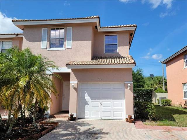 9151 NW 40th Pl #9151, Sunrise, FL 33351 (MLS #F10279362) :: Berkshire Hathaway HomeServices EWM Realty
