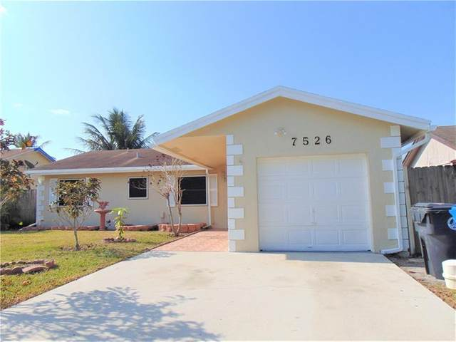 7526 SW 7th Pl, North Lauderdale, FL 33068 (MLS #F10279414) :: GK Realty Group LLC