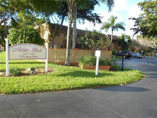 7175 Nova Dr #204, Davie, FL 33317 (#F10279576) :: The Power of 2 | Century 21 Tenace Realty