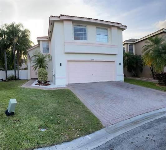2460 SW 163rd Ter, Miramar, FL 33027 (MLS #F10279641) :: Green Realty Properties