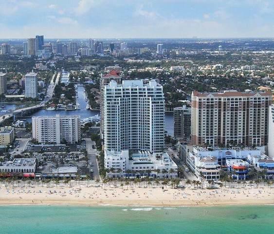 101 S Fort Lauderdale Beach Blvd #605, Fort Lauderdale, FL 33316 (#F10279714) :: Baron Real Estate