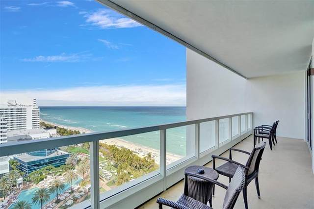 4391 Collins Ave 1706/1707, Miami Beach, FL 33140 (MLS #F10279891) :: The Jack Coden Group