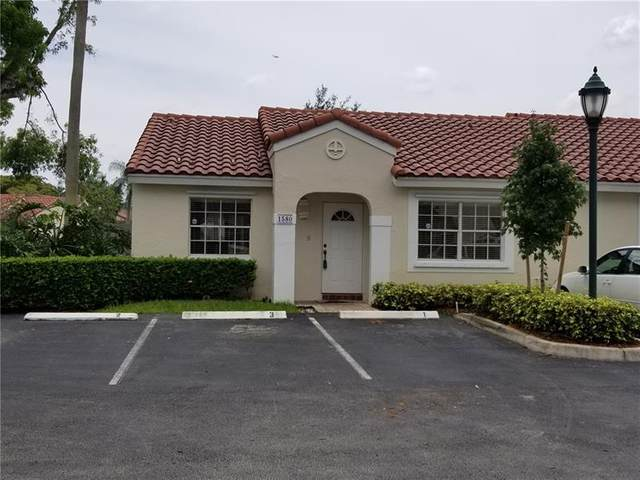 1580 Springside Dr #1580, Weston, FL 33326 (MLS #F10279909) :: The Howland Group