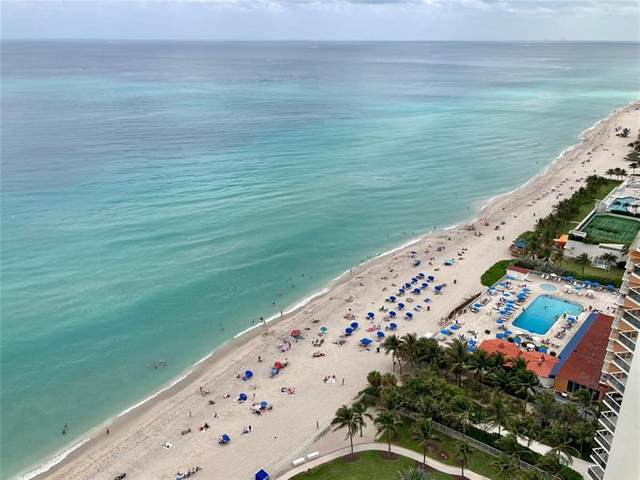 19333 Collins Ave #2802, Sunny Isles Beach, FL 33160 (MLS #F10279991) :: The Howland Group