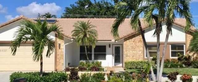 1381 SW 16th St, Boca Raton, FL 33486 (#F10280050) :: Dalton Wade