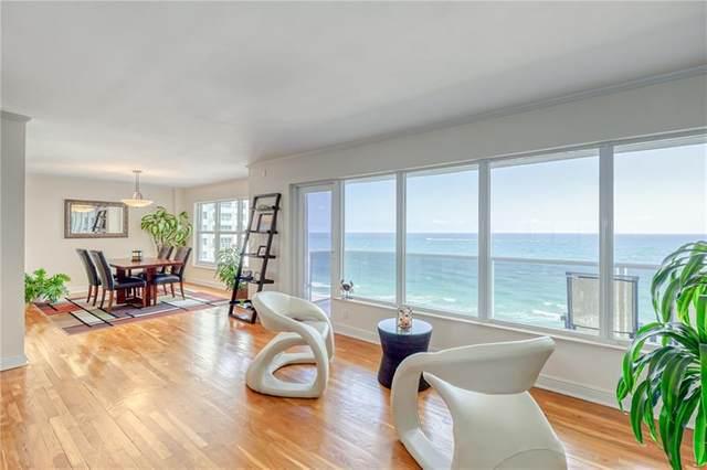 3500 Galt Ocean Dr #1010, Fort Lauderdale, FL 33308 (#F10280288) :: Baron Real Estate
