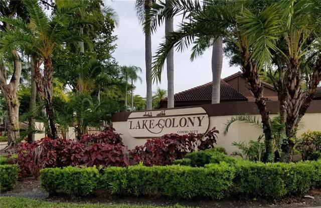 7072 Lantana Ln #7072, Tamarac, FL 33321 (MLS #F10280484) :: Berkshire Hathaway HomeServices EWM Realty