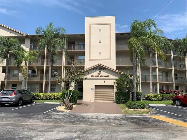 650 SW 138th Ave J407, Pembroke Pines, FL 33027 (MLS #F10280666) :: GK Realty Group LLC