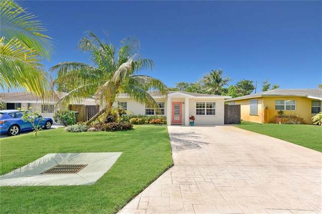 90 NE 46th Ct, Oakland Park, FL 33334 (MLS #F10280918) :: Green Realty Properties