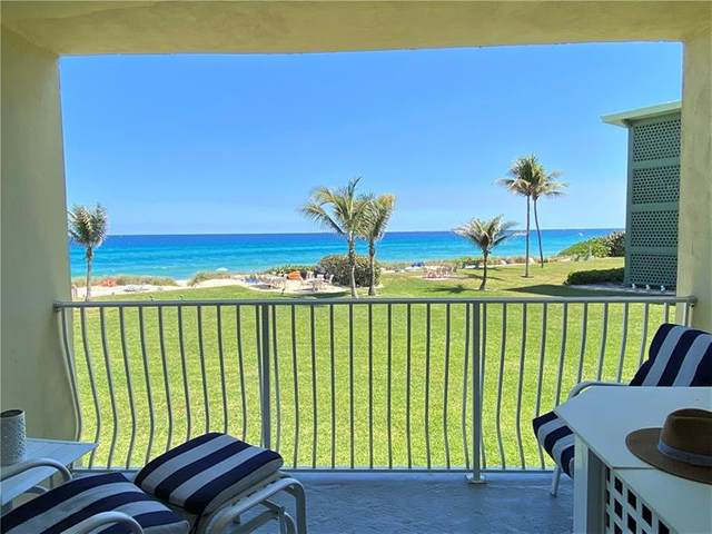 1039 Hillsboro Mile #15, Hillsboro Beach, FL 33062 (MLS #F10280922) :: Berkshire Hathaway HomeServices EWM Realty