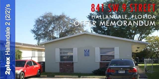 841 SW 9th St, Hallandale Beach, FL 33009 (#F10280943) :: Posh Properties