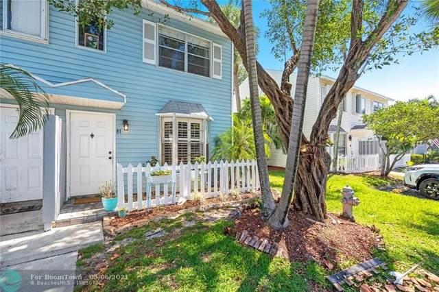 81 SW 3rd St #81, Pompano Beach, FL 33060 (MLS #F10281105) :: Green Realty Properties