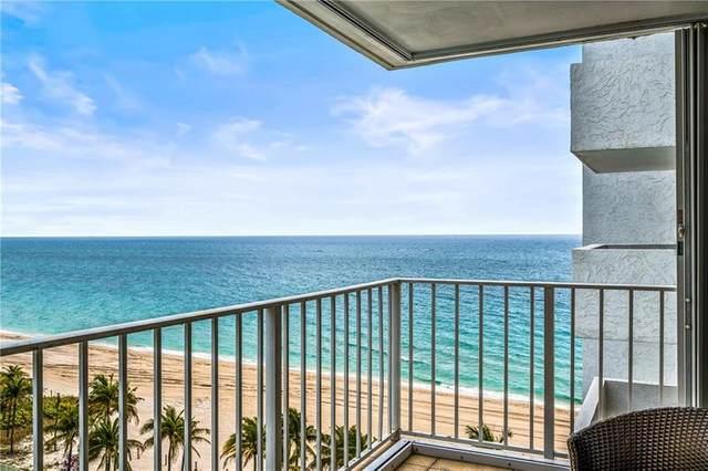 1010 S Ocean Blvd #1016, Pompano Beach, FL 33062 (#F10281383) :: Baron Real Estate