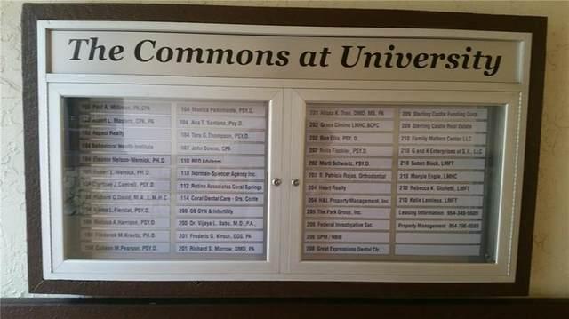1881 N University Drive 204-205, Coral Springs, FL 33071 (#F10281549) :: Posh Properties