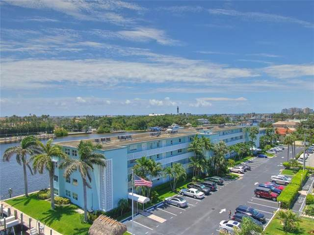 2772 NE 30th Ave 8C, Lighthouse Point, FL 33064 (#F10281602) :: Posh Properties