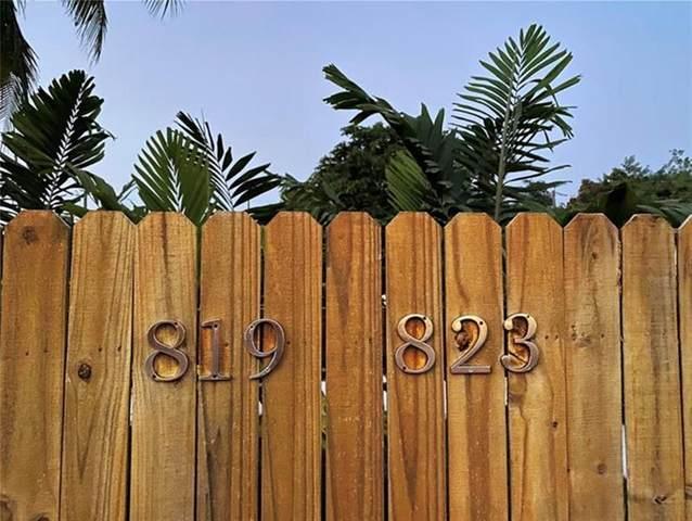 819-823 NE 14th Ct, Fort Lauderdale, FL 33304 (#F10281809) :: Posh Properties