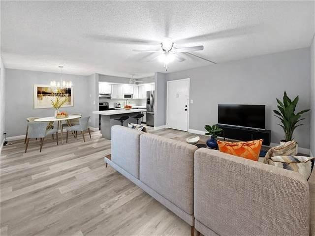 7614 Ashmont Cir #104, Tamarac, FL 33321 (#F10281914) :: Baron Real Estate