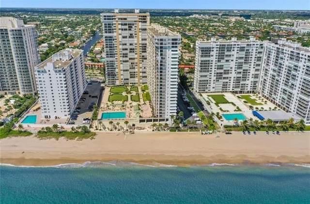4280 Galt Ocean Dr 14J, Fort Lauderdale, FL 33308 (#F10282331) :: Baron Real Estate