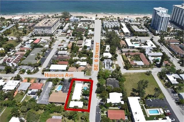 3211 SE 6 St, Pompano Beach, FL 33062 (#F10282342) :: Posh Properties