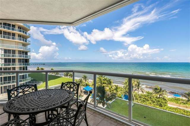 6001 N Ocean Dr #601, Hollywood, FL 33019 (MLS #F10282513) :: The Howland Group