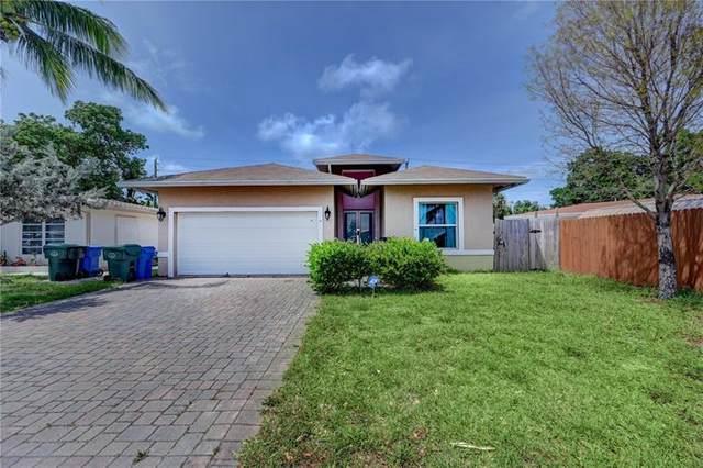 261 NE 41st St, Oakland Park, FL 33334 (MLS #F10282640) :: Green Realty Properties