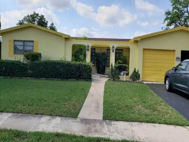 12000 NW 22nd St, Pembroke Pines, FL 33026 (#F10282809) :: Michael Kaufman Real Estate