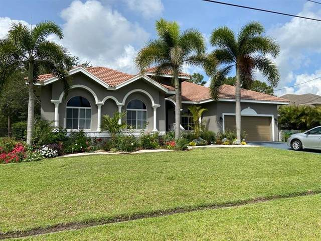6110 NW Densaw Ter, Port Saint Lucie, FL 34986 (MLS #F10282854) :: Green Realty Properties