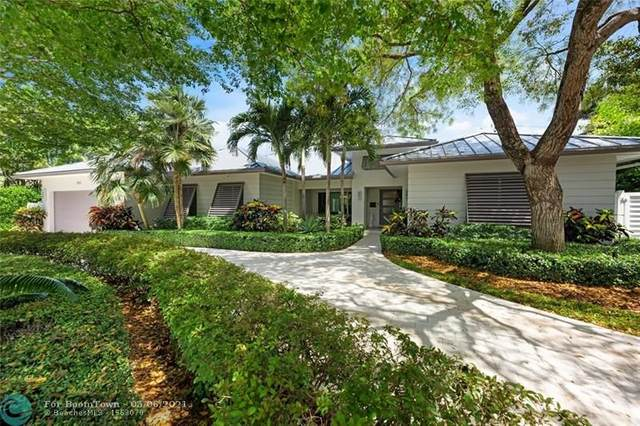 1206 E Lake Dr, Fort Lauderdale, FL 33316 (MLS #F10283300) :: The Howland Group