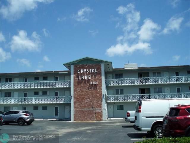 1021 S Crystal Lake Dr #307, Deerfield Beach, FL 33064 (#F10283302) :: The Power of 2 | Century 21 Tenace Realty