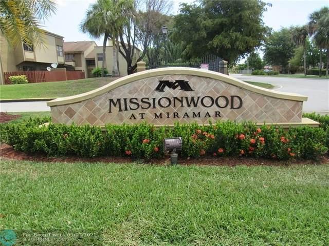 8448 W Missionwood Dr B-36, Miramar, FL 33025 (MLS #F10283423) :: Patty Accorto Team