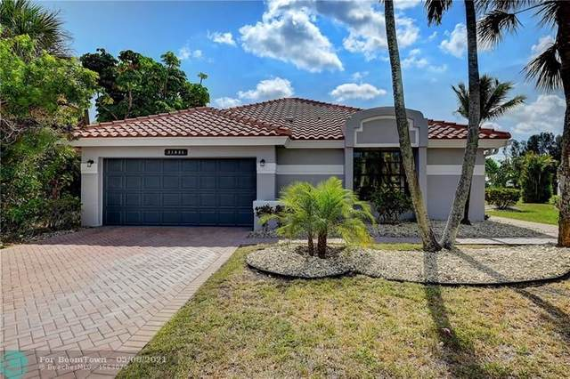 21034 Cottonwood Dr, Boca Raton, FL 33428 (#F10283625) :: Baron Real Estate