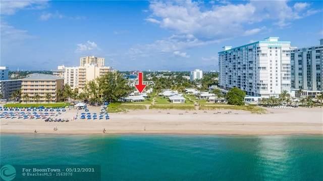 1100 S Ocean Blvd D16, Pompano Beach, FL 33062 (MLS #F10283710) :: GK Realty Group LLC