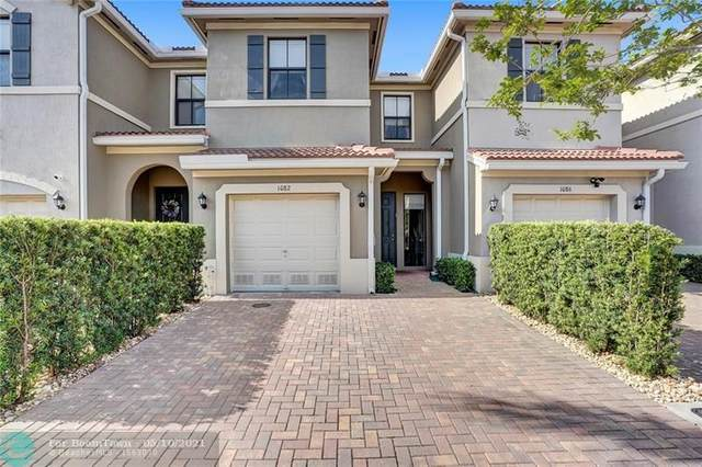 1082 NW 33rd Mnr #1082, Pompano Beach, FL 33064 (MLS #F10283771) :: GK Realty Group LLC
