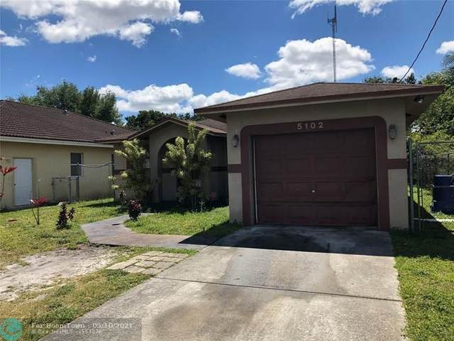 5102 SW 20th St, West Park, FL 33023 (#F10283816) :: DO Homes Group