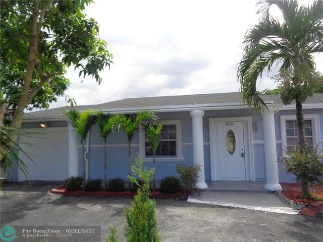 309 SW 77th Ave, North Lauderdale, FL 33068 (MLS #F10283946) :: The Howland Group