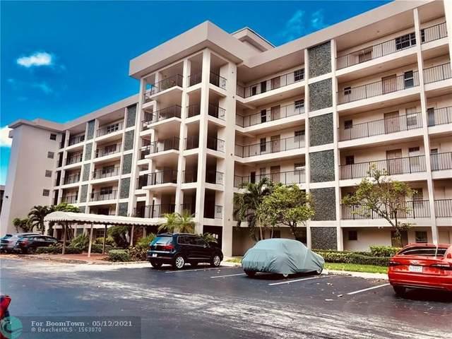 2850 N Palm Aire Dr #407, Pompano Beach, FL 33069 (MLS #F10284028) :: GK Realty Group LLC