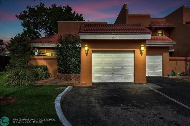 1600 SW 120th Ave #1600, Pembroke Pines, FL 33025 (#F10284057) :: Ryan Jennings Group