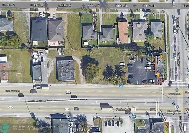 5617 Pembroke Rd, Hollywood, FL 33023 (#F10284311) :: Posh Properties
