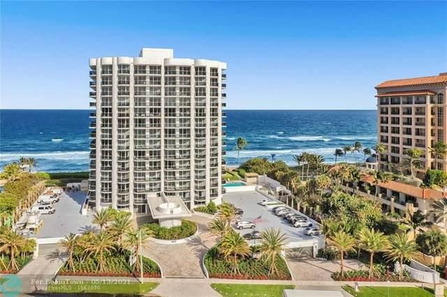 350 S Ocean Blvd 5C, Boca Raton, FL 33432 (MLS #F10284423) :: Miami Villa Group