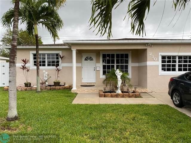 210 SE 3rd St, Dania Beach, FL 33004 (#F10284468) :: Ryan Jennings Group