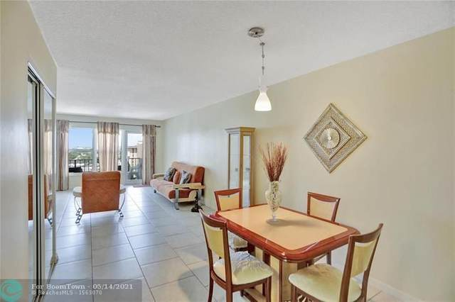 405 N Ocean Blvd #1015, Pompano Beach, FL 33062 (#F10284577) :: Baron Real Estate