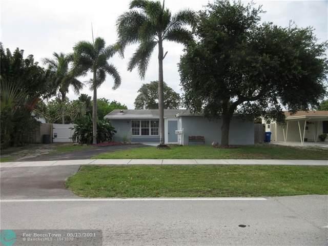 721 NE 24th St, Pompano Beach, FL 33064 (#F10284649) :: Posh Properties