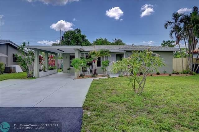 4580 NE 2nd Ter, Oakland Park, FL 33334 (#F10284764) :: Michael Kaufman Real Estate