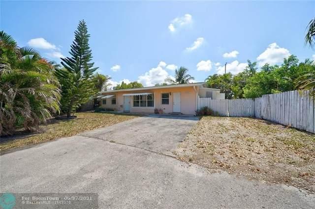 2821 NE 10th Ave, Pompano Beach, FL 33064 (#F10285487) :: Michael Kaufman Real Estate